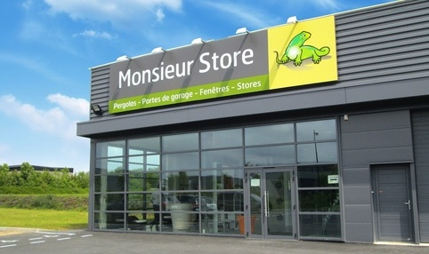Devanture magasin franchisé Monsieur Store